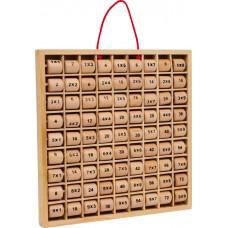 Tabla de inmultire din lemn