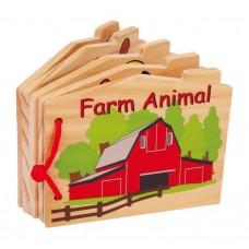 Carte senzoriala lemn