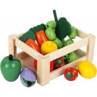 Cutie cu Legume si Fructe