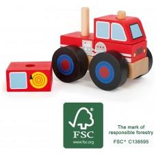 Vehicul pompieri de construit