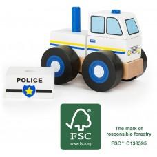 Vehicul politie de construit