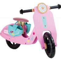 Bicicleta fara pedale-roz