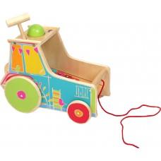 Tractor de tras cu xilofon