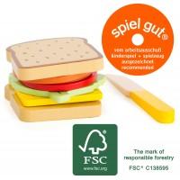 Sandwich Velcro