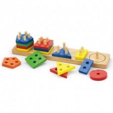 Puzzle forme geometrice