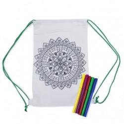 Rucsac Mandala DIY