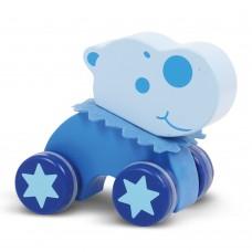 Jucărie de tras hipopotam