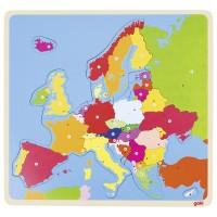 Puzzle lemn Europa