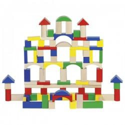 Cuburi de construit colorate