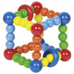 Cub elastic cu inele de lemn