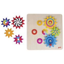 Tabla-puzzle cu roti