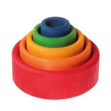 Set de boluri, multicolor