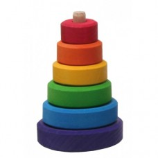 Turnulet colorat cu 6 piese