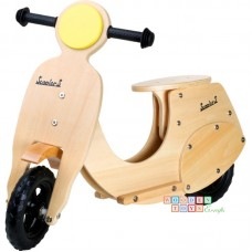 "Bicicleta din lemn fara pedale ""Vespa"""