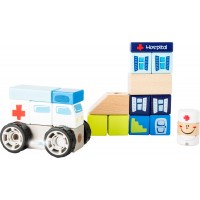 Ambulanta set de construit cu sunet