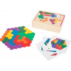 Puzzle hexagon
